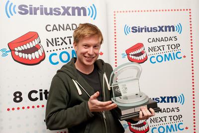 Sirius XM's Canada's Next Top Comic Trophy