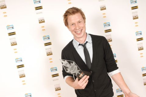 Canadian Comedy Award trophy