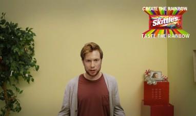 Skittles Comercial Shot